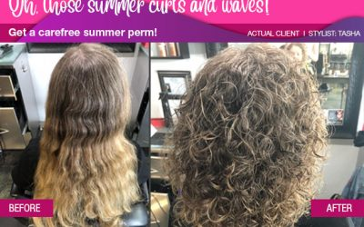 Want some ideas for easy carefree summer hair styles?
